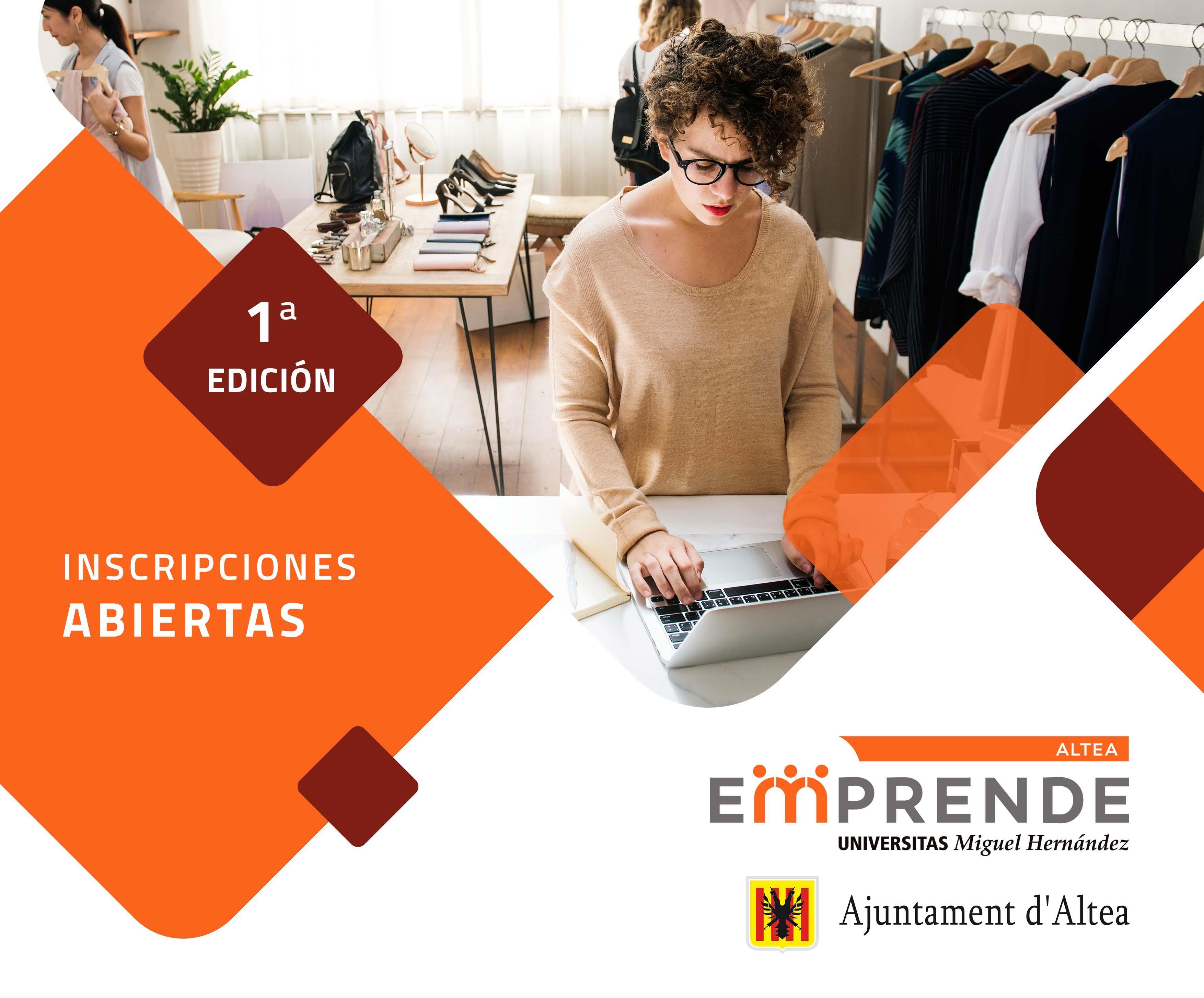 Inscripciones abiertas: impulsa tu negocio con Altea Emprende