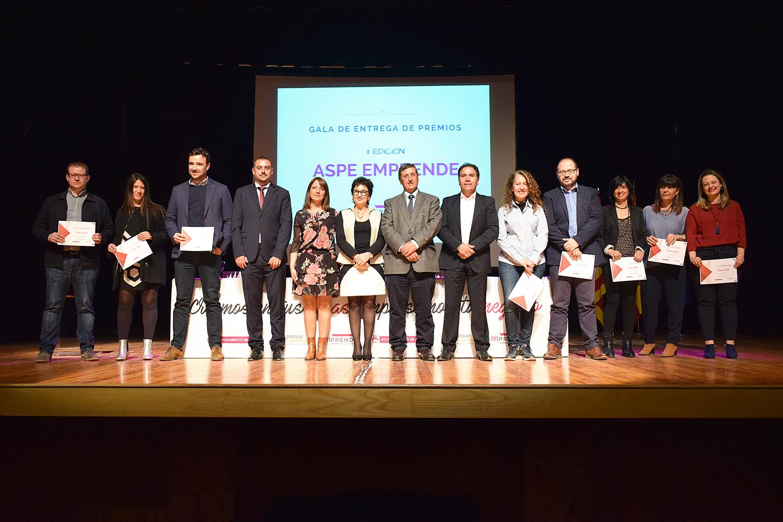 La 2ª edición de Aspe Emprende premia con 1.200 euros las mejores iniciativas