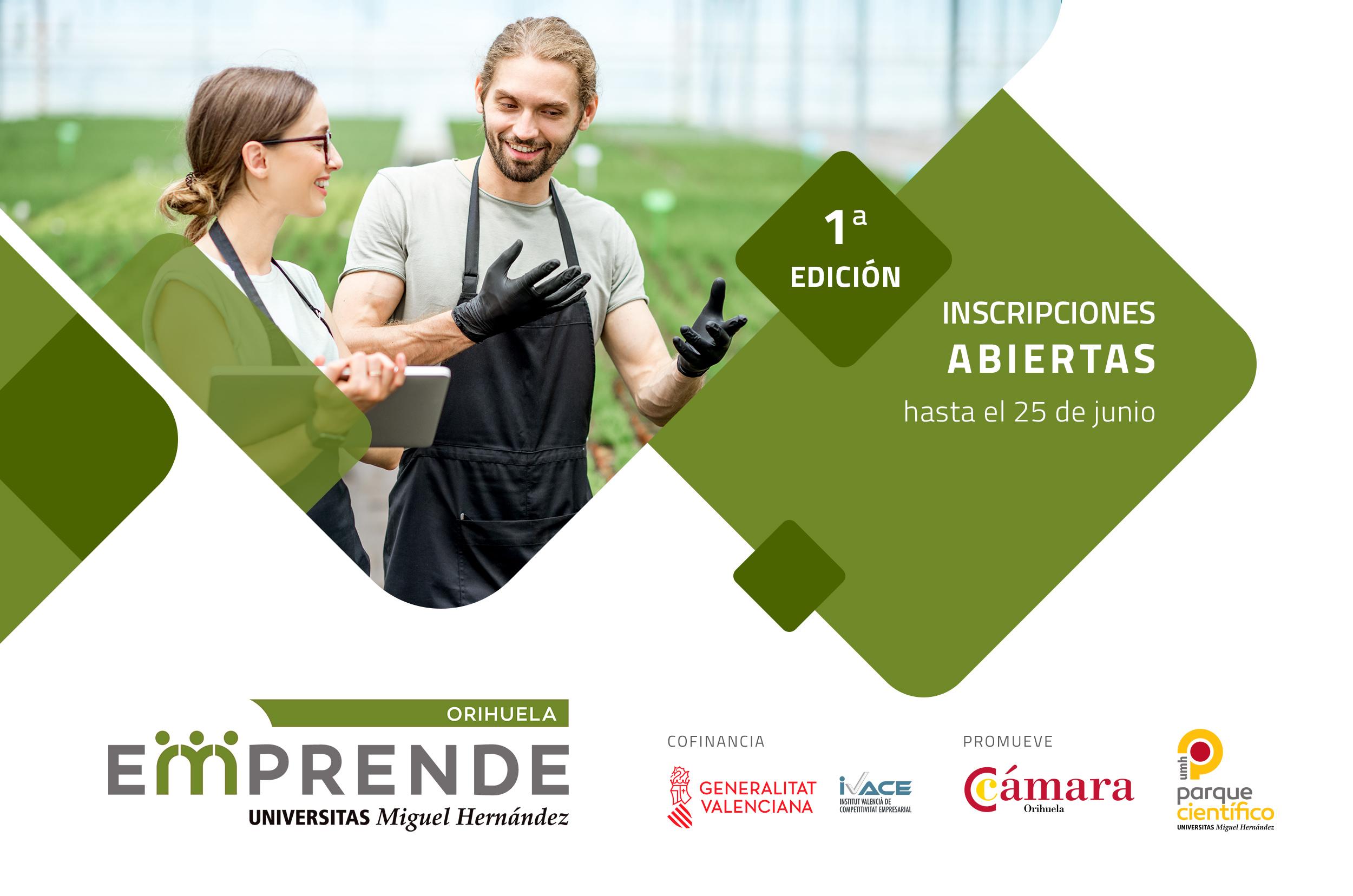 Presentación del programa Orihuela Emprende para emprendedores y empresas de la Vega Baja