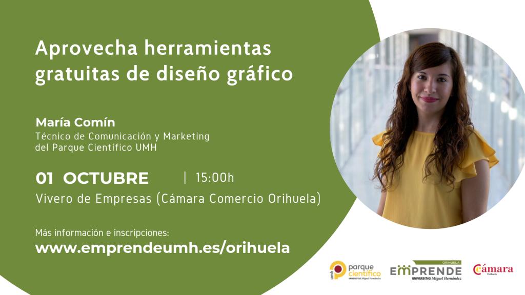 011019 Jornada María Orihuela Emprende