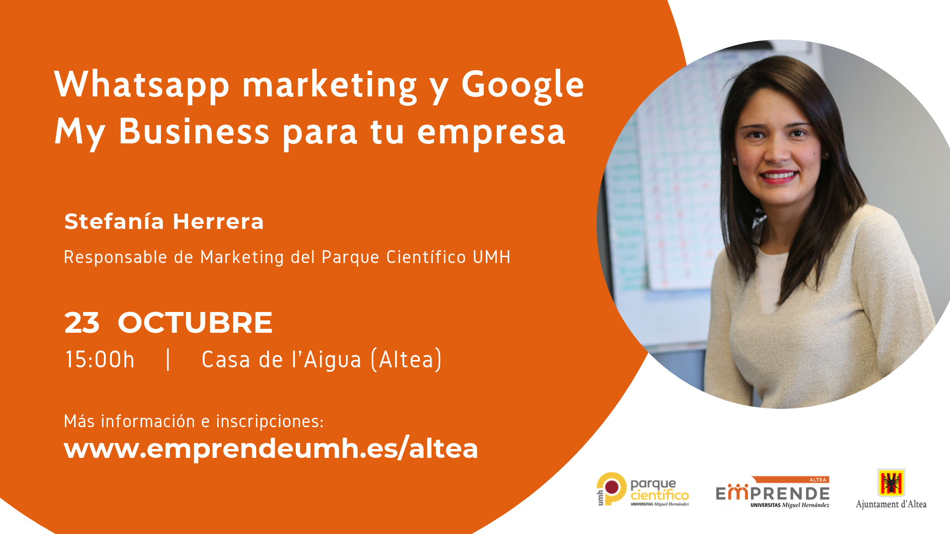Whatsapp marketing y Google My Business para empresas
