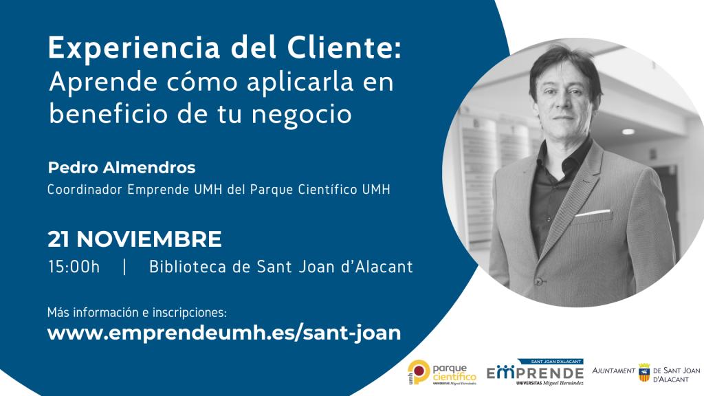 211119 Sant Joan Emprende Experiencia de Cliente Pedro Almendros