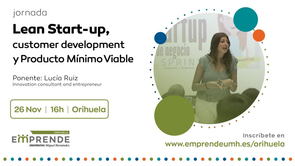 jornada lean start-up ORIHUELA EMPRENDE