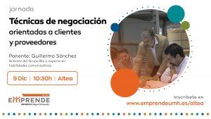 jornada técnicas de negociación ALTEA – ALTEA EMPRENDE